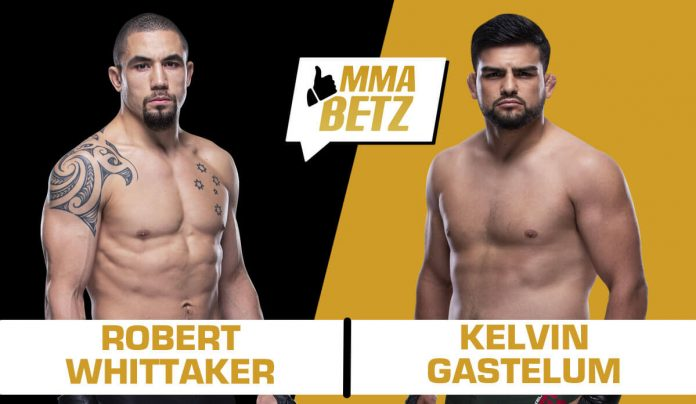 UFC Vegas 24: Robert Whittaker vs Kelvin Gastelum