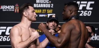 UFC 260: Stipe Miocic vs Francis Ngannou