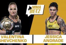 UFC 261: Valentina Shevchenko vs Jessica Andrade