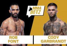 UFC Vegas 27: Rob Font vs Cody Garbrandt