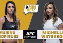 UFC Vegas 26: Marina Rodriguez vs Michelle Waterson