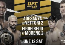 UFC 263 results