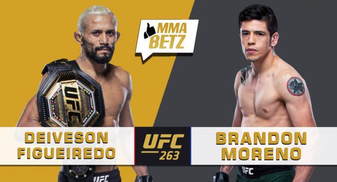 UFC 263 Deiveson Figueiredo vs Brandon Moreno