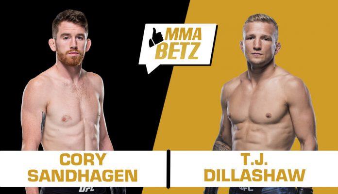 UFC Vegas 32: Cory Sandhagen vs TJ Dillashaw