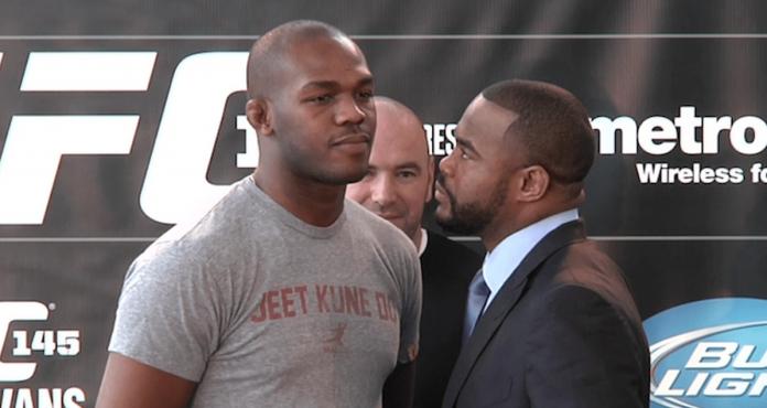 UFC, Jon Jones, Rashad Evans