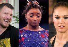 Michael Bisping, Simone Biles, Ronda Rousey