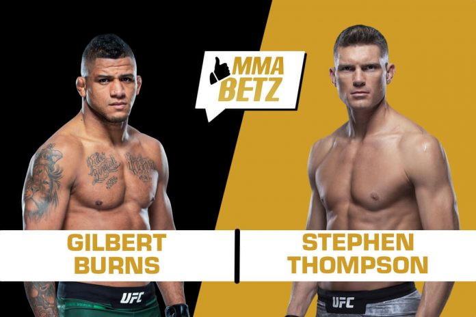 UFC 264: Gilbert Burns vs Stephen Thompson