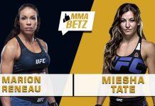 UFC Vegas 31: Marion Reneau vs Miesha Tate