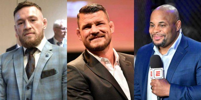 Conor McGregor, Michael Bisping, Daniel Cormier, UFC
