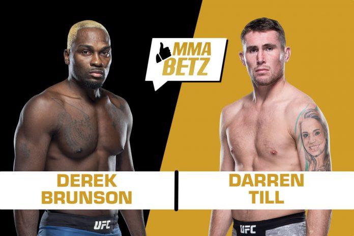 Derek Brunson vs Darren Till