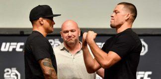 Dustin Poirier, Nate Diaz, UFC