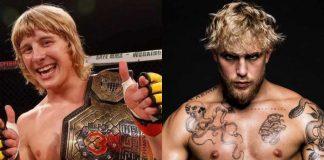 Paddy Pimblett, Jake Paul, UFC