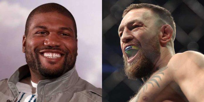 'Rampage' Jackson, Conor McGregor, UFC