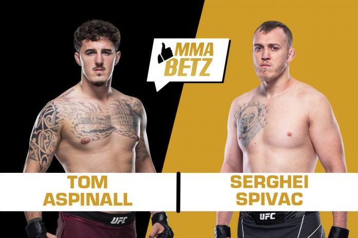 UFC Vegas 36, Tom Aspinall vs Serghei Spivac