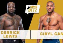 UFC 265, Derrick Lewis vs Ciryl Gane