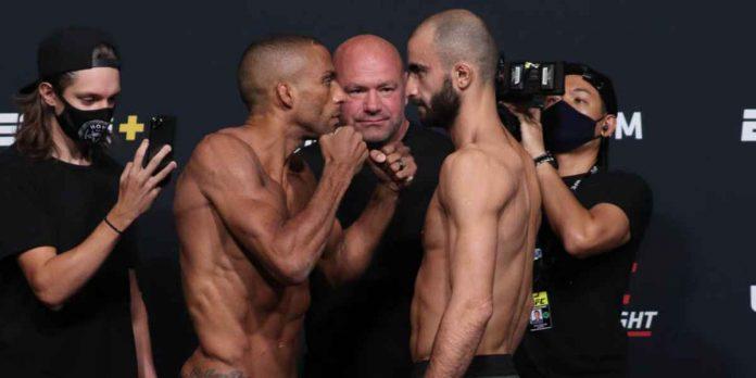 UFC Vegas 35, Edson Barboza, Giga Chikadze (1)