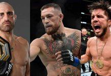 Alex Volkanovski, Conor McGregor, Henry Cejudo, UFC