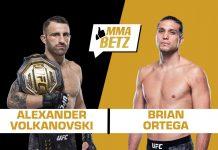 Alex Volkanovski vs Brian Ortega, UFC