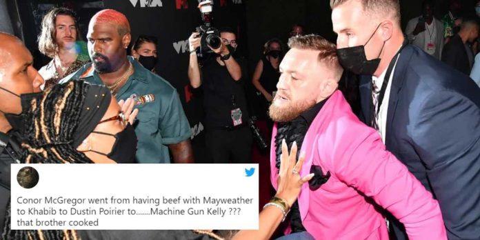 Conor McGregor, Machine Gun Kelly