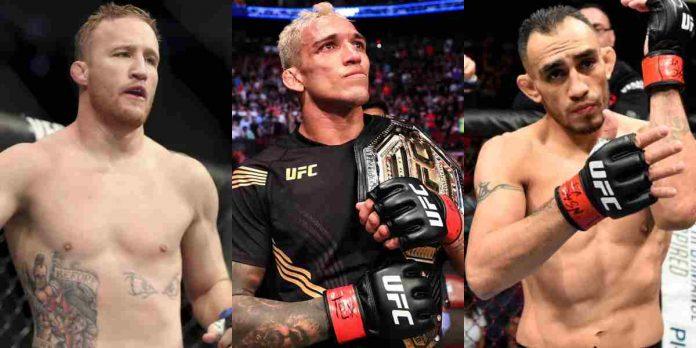 Justin Gaethje, Charles Oliveira, Tony Ferguson, UFC
