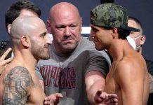 UFC 266, Alex Volkanovski, Brian Ortega