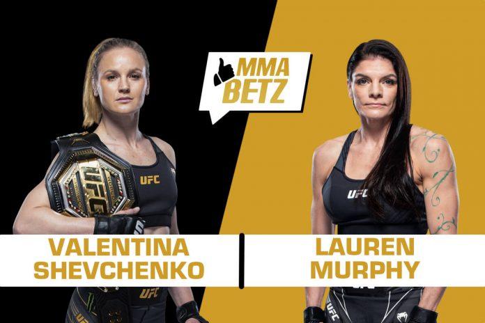 Valentina Shevchenko vs Lauren Murphy