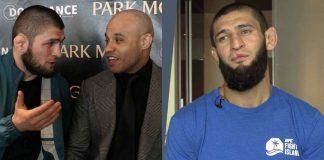 Ali Abdelaziz, Khamzat Chimaev, Khabib Nurmagomedov, UFC