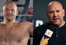 Fedor Emelianenko, Dana White, UFC