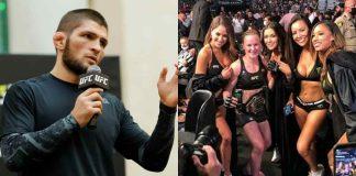 Khabib Nurmagomedov, Ring Girls, UFC